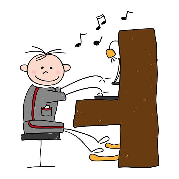Dessin De Piano ma première année de clavier – betremieux
